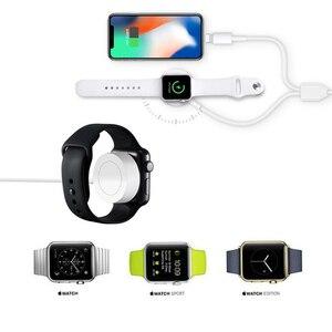 Image 5 - 3 en 1 chargeur à Induction de charge sans fil support pour iPhone X XS Max XR 8 Airpods Apple Watch Station daccueil 2 en 1 3in1