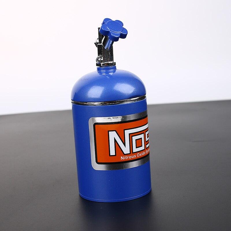 NOS bouteille réservoir voiture Auto oxyde nitreux système voiture camion Cigarette cigare cendrier métal fait intérieur accessoires