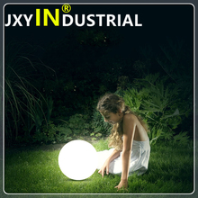 rechargeable ball waterproof/ free shipping 30cm Rechargeable waterproof illuminated led orb sphere