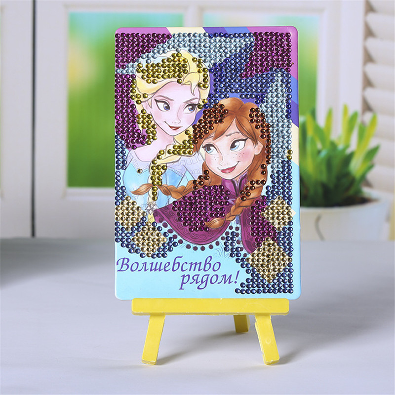 Craft Toys DIY Mosaic Diamond Painting 3D Puzzle Rhinestone Creative Girls Toys Educational Toys For Children SG9