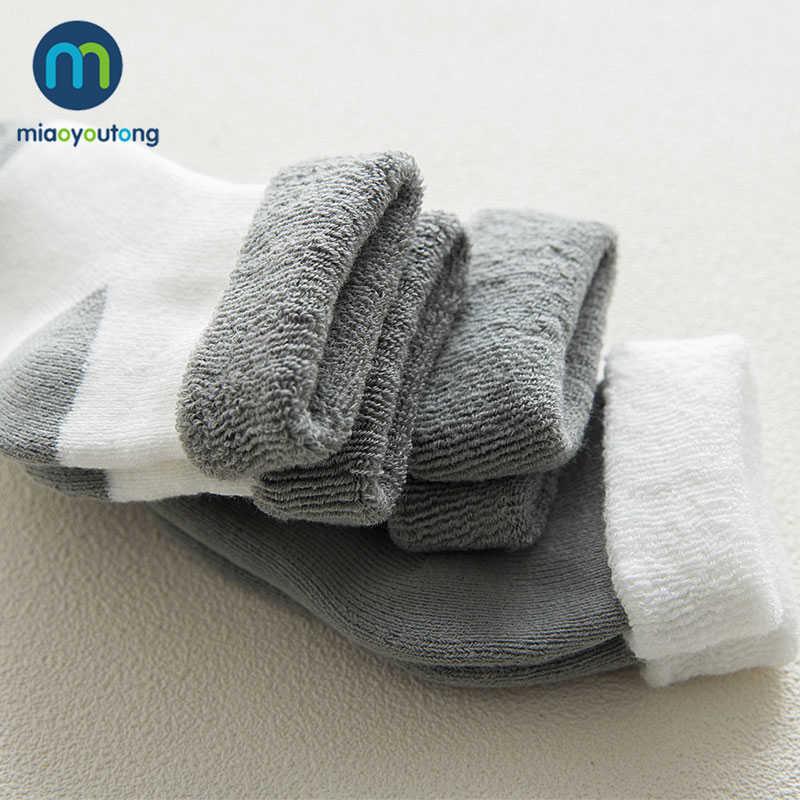 5 Đôi Chất Lượng Cao Làm Dày Hoạt Hình Thoải Mái Cotton Vớ Sơ Sinh Trẻ Em Bé Trai Mới Sinh Tất Bé Gái Meia Infantil Miaoyoutong