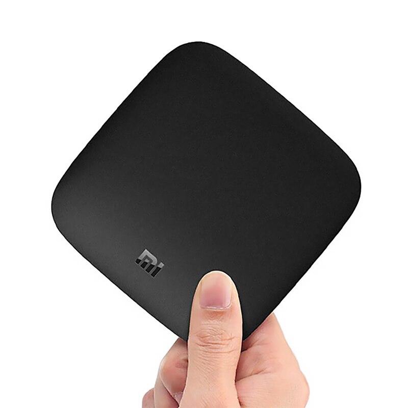 Boîtier TV Original Global Xiao mi mi TV 3 4K HDR Android TV 8.1 Ultra HD 2G 8G WIFI Google Cast Netflix lecteur multimédia décodeur mi Box - 3