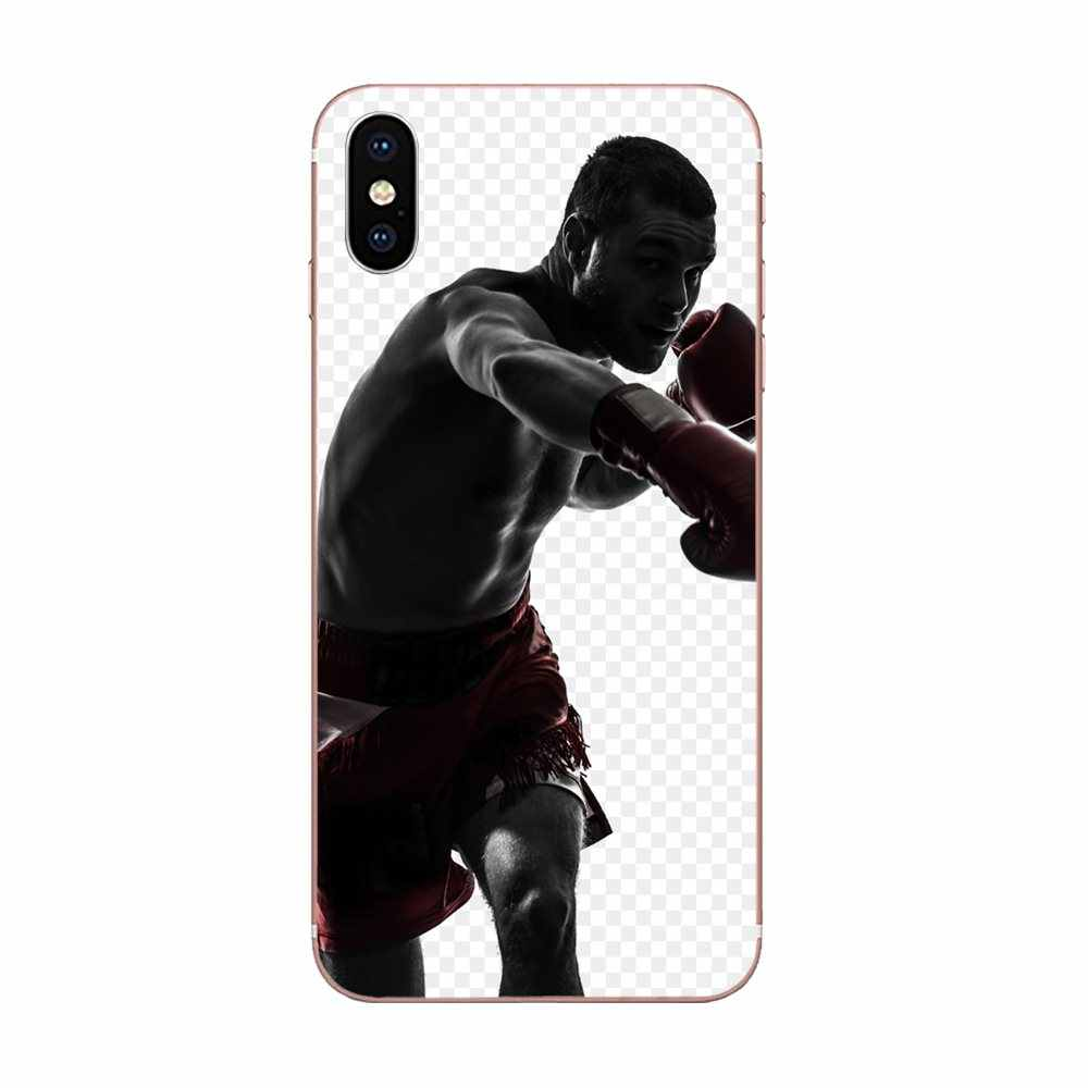 アメージングボクシング男ミニマリストボクシンググローブ Huawei 社の名誉ノヴァ注 5 5I 8A 8 × 10 プロのため 9X モト G G2 G3 G4 G5 G6 G7 プラス