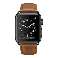 купить Hot Sell Leather Watchband for Apple Watch Band Series 3/2/1 Sport Bracelet 42 mm 38 mm watch Strap For iwatch 4 Band дешево