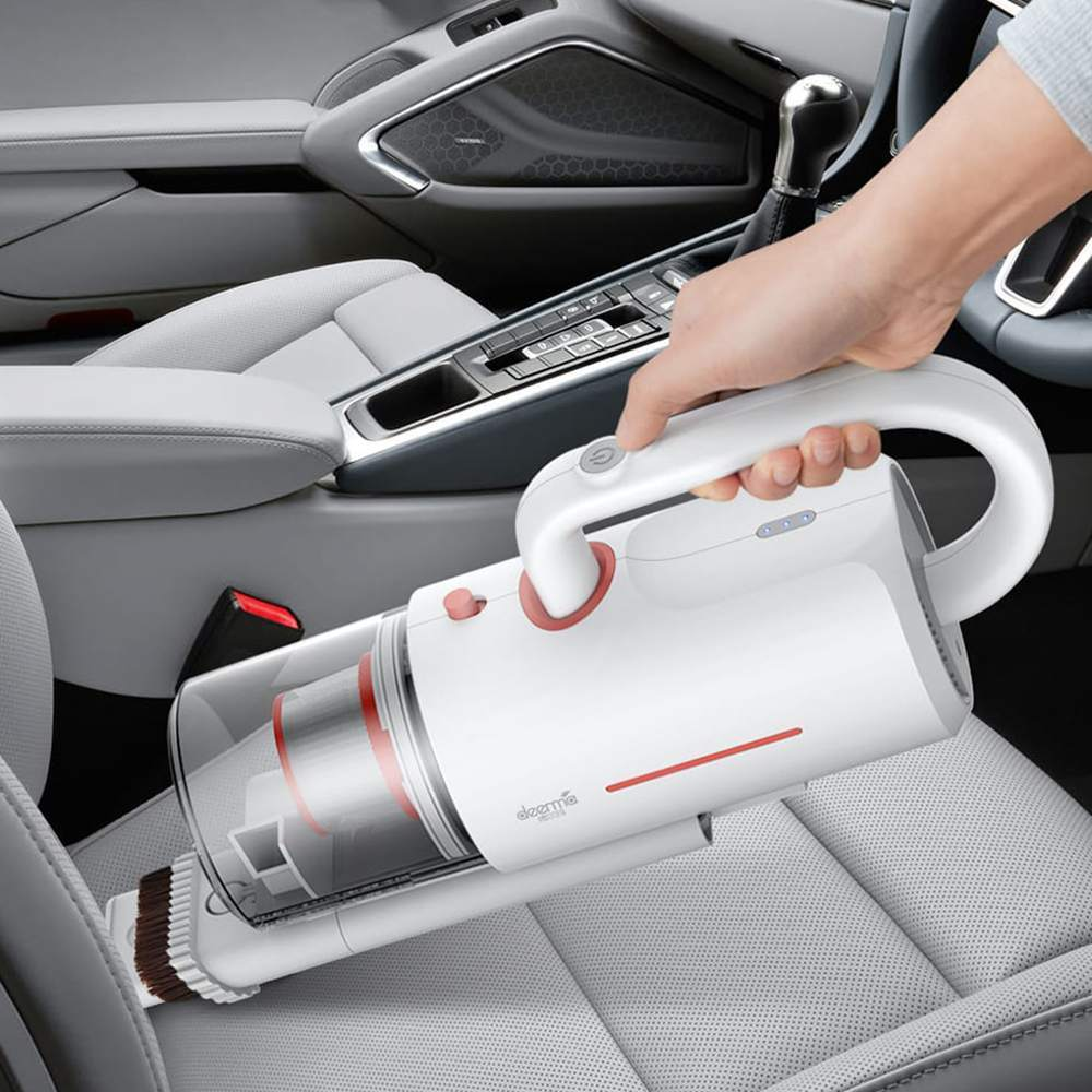 XIAOMI DEERMA CM1910 Cordless Anti Dust Mites UV Vacuum Cleaner for Household Use with USB Charger 3