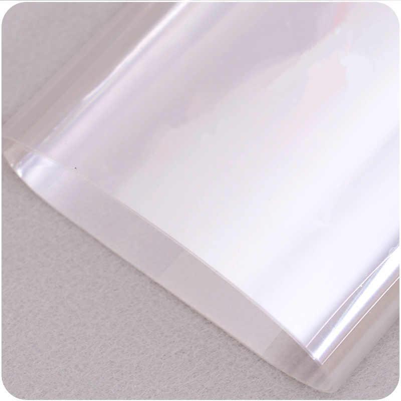 ذاتية اللصق مكافحة النفط شفافة الجدار ملصق مقاوم للماء طبقة رقيقة واقية للمطبخ سيراميك خزانة ديكور المنزل