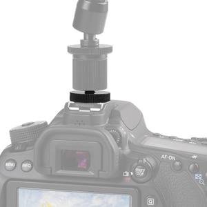 "Image 5 - อุปกรณ์เสริม1/4 /3/8"" Single Dual LayerแฟลชCold Mount Mountสำหรับกล้องDSLR CanonNikonSony Minolta yongnuo"