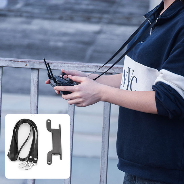 For Mavic MINI PRO ZOOM AIR SPARK Dual Hook Neck Strap Bracket Mount Hang Lanyard for DJI MAVIC mini Controlle Accessories