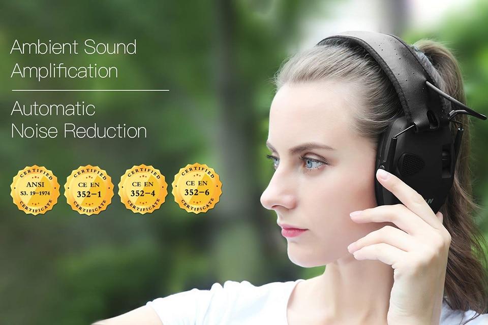 H0285bf792d314ab8be37ae0a3e824f7fQ - หูฟังลดเสียง ป้องกันหู ที่ปิดหู ลดเสียงดังที่ได้ยิน ลดการได้ยินเสียง NRR22dB Professional