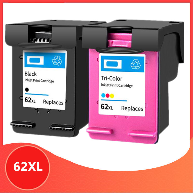 Compatible For 62XL Ink Cartridge For Hp62 For Hp 62 5640 5660 7640 5540 5544 5545 5546 5548 Officejet 5740 5741 5742 5743 5744