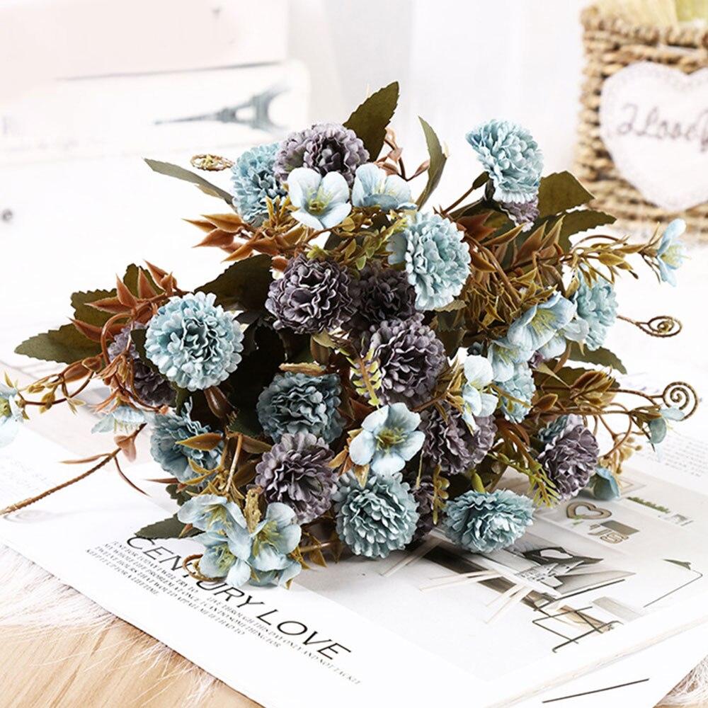 53cm Artificial Poppy Silk Flowers Flower Floral Fake Valentines Wedding Decor