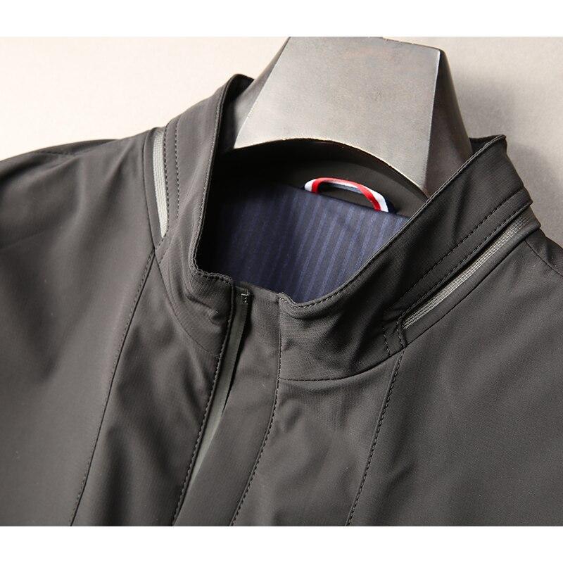 Plus size 8XL 7XL 6XL 5XL nova chegada jaquetas homens marca roupas de outono primavera com capuz preto casaco masculino top qualidade blusão - 4