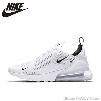 White AH8050-100 Nike Air Max 270 Running Shoes For Men Sport Outdoor Sneakers Comfortable Breathable For Men Nike Air 270 comfortable nike air max 270 180 men s sports shoes outdoor running shoes for men airmax 270 durable lightweight ah8050 100