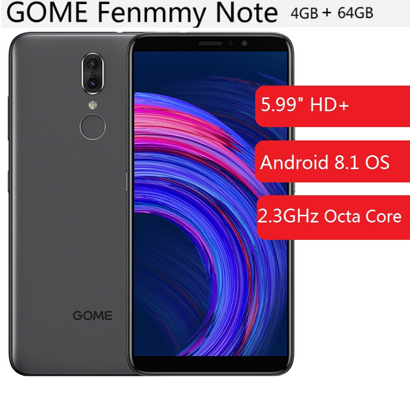 GOME Fenmmy Note (C7 Note PIUS) 4G Smartphone 5.99