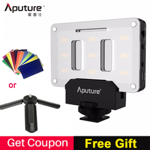 Aputure AL M9 Pocket LED Video LIGHT กล้อง Studio Light ภาพ CRI/TLCI 95 สำหรับ Canon งานแต่งงาน filmmaking