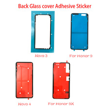 10Pcs Back Battery Cover Door sticker Adhesive glue tape For Huawei Honor 9 10 8