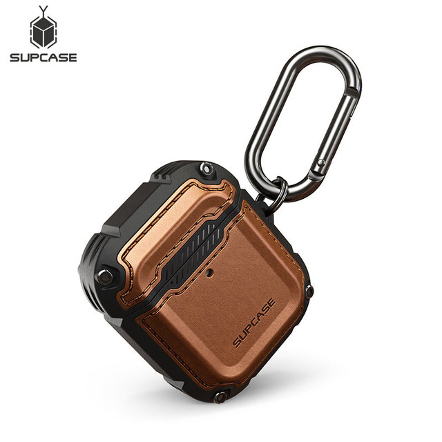 SUPCASE UB Royal Case For Airpods 1st & 2nd Case Full Body Rugged Protective Cover with Hand Strap For Apple Airpods 1 & 2