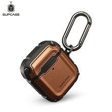 Supcase Ub Royal Case Voor Airpods 1st & 2nd Case Full Body Robuuste Beschermende Cover Met Hand Strap voor Apple Airpods 1 & 2