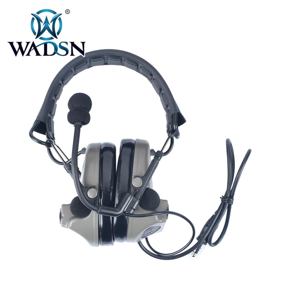 Wadsn softair comtac ii tático fone de