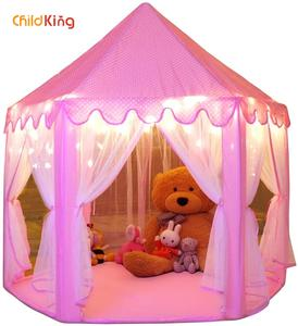 Teepee Tents House Camping-Tent Childking for Play 2-4-Years