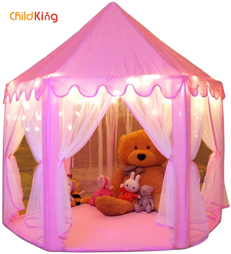 ChildKing Kids Tent  Play House  Children Tent  Kids House  Kids Play House  Teepee Tents For Camping  Tent For Kids   2-4 Years