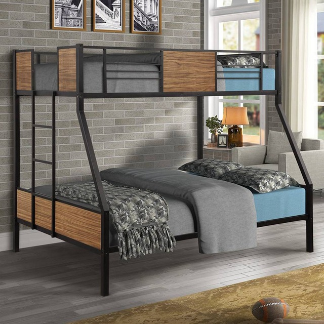 Twin-over-Twin Steel Framed Bunkbed 3