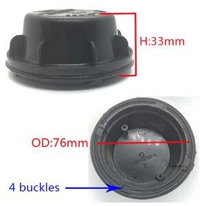 Image 5 - 1 قطعة ل شيفروليه أفيو العلوي توسيع غطاء غبار LED لمبة التحديثية الغطاء الخلفي كشافات لمبة غطاء غبار تعديل لمبة
