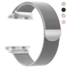 Suitable For Apple Watchband Milanese Loop Strap Magnetic Suction Steel Band 38/40mm 42/44mm Wide