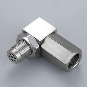 Image 2 - Yetaha 90 Degree Engine Light CEL Eliminator With Mini Catalytic Converter For Most M18 X 1.5 Thread O2 Oxygen Sensor Spacers