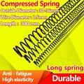compression spring pressure spring Y type return strong Spring steel spring Wire Diameter 2.5mm, Length 300mm, Diameter 30-36mm