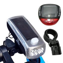 Rowerowe słoneczne reflektor ładowania lampa rowerowa noc konna latarka akcesoria rowerowe jazda na rowerze światła
