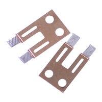 Citall 2 pçs pedal do acelerador coluna de direção interruptor ângulo sensor reparação kit apto para bmw 7 e65 e66