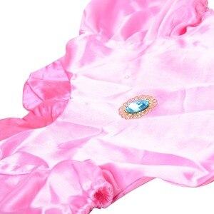 Image 4 - נסיכה קטנה אפרסק תלבושות סופר מריו אחים נסיכת קוספליי קלאסי משחק מריו תלבושות ילדים ילדה ליל כל הקדושים תחפושת