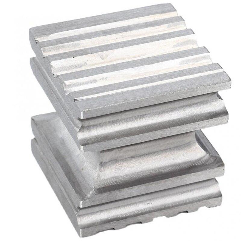 Poinçon carré de bloc de dging de dôme en acier de dureté élevée formant l'outil de façonnage pour la fabrication de bijoux - 4