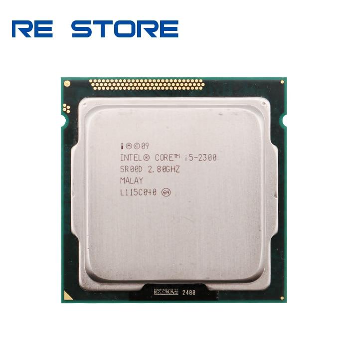 Процессор Intel Core i5 2300, 2,80 ГГц, 6 Мб, разъем 1155, процессор SR00D