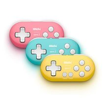 Para 8 bitdo zero 2 bluetooth gamepad para nintendo switch windows android macos gamepads