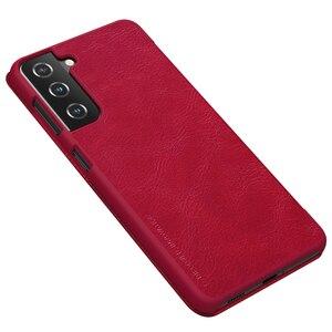 Image 5 - لسامسونج غالاكسي Samsung Galaxy S21 الوجه الحال S21 Plus زائد S21 Ultra الترا غطاء Nillkin تشين جلدية الوجه غطاء بطاقة جيب كتاب الحال بالنسبة لسامسونج Samsung S21 +