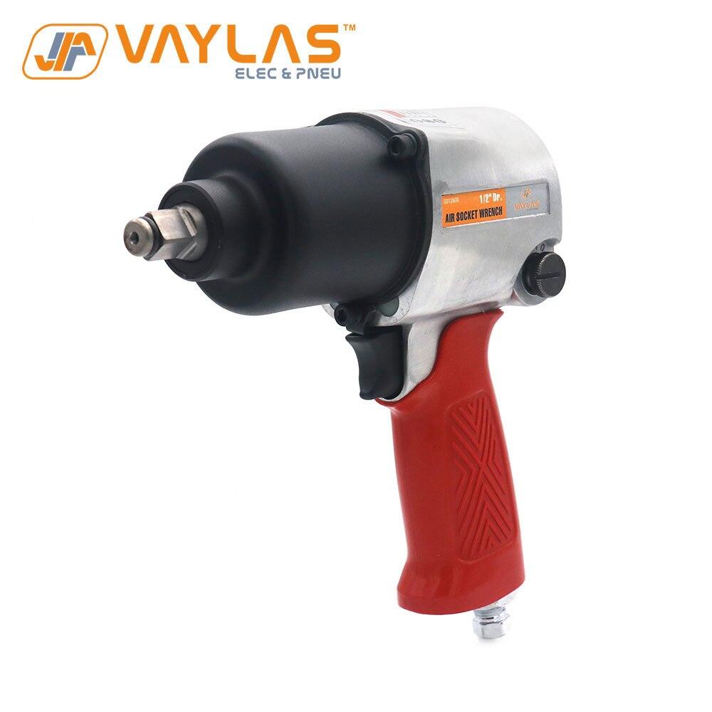 """Vaylas 1/2 """"스퀘어 드라이브 공압 임팩트 렌치 680N. m 고 토크 에어 임팩트 소켓 렌치 스패너 에어 파워 툴-에서압축 공기 공구부터 도구 의"""