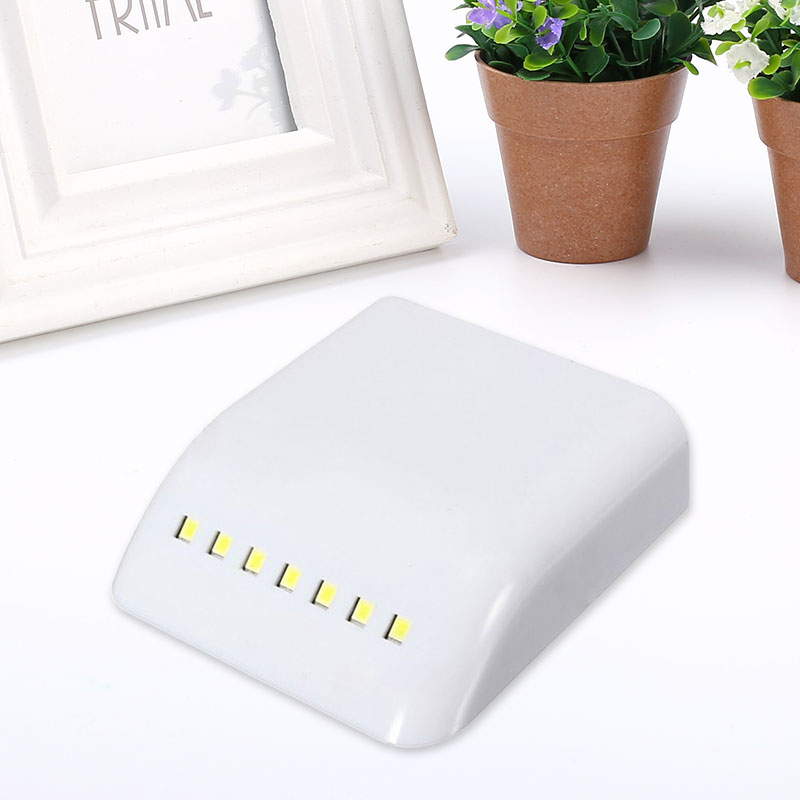 Battery Powered Wireless LED PIR Motion Sensor Light Cabinet Wardrobe Drawers*