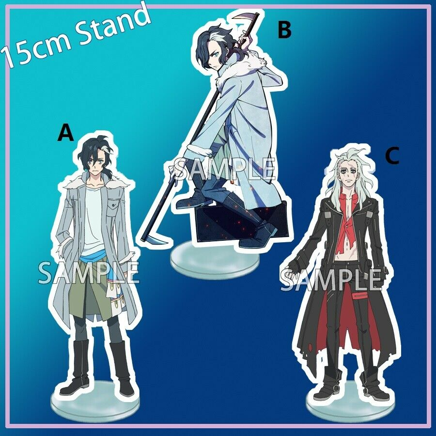 Acrylic Stand Figure Display Sirius The Jaeger Yuliy Mikhail Angels Double Side