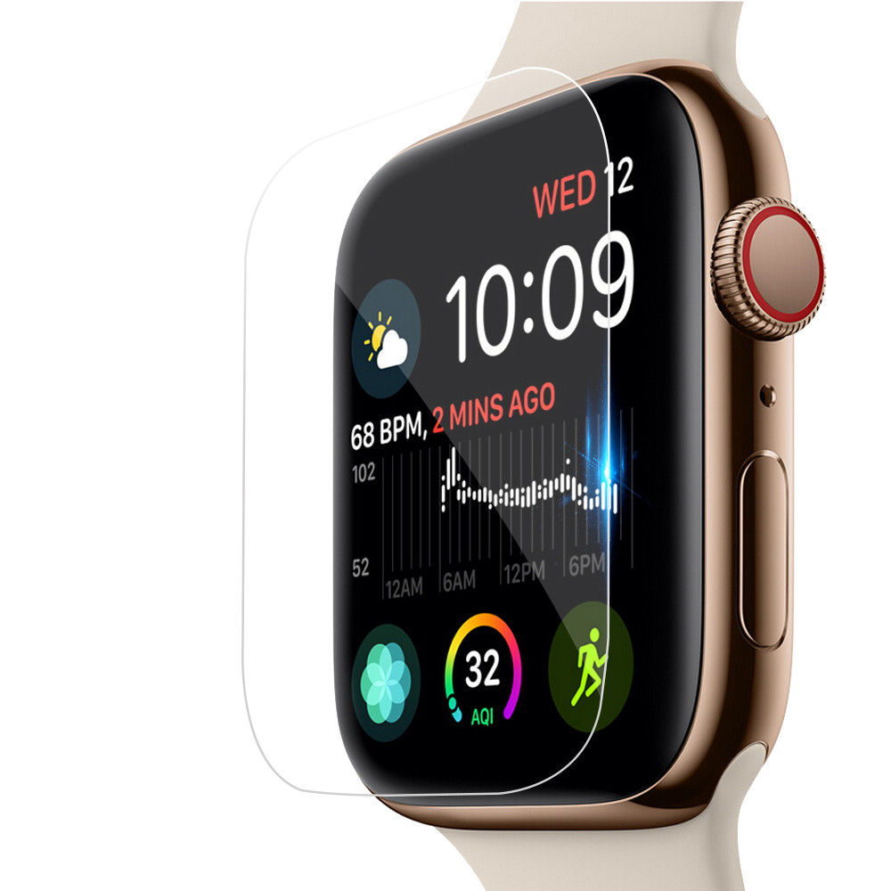 New Coming 3D TPU Hydrogel Protective Film Full Cover Screen Protectors For i-Watch Apple Watch Series 4 3 2 1 Soft Durable 2