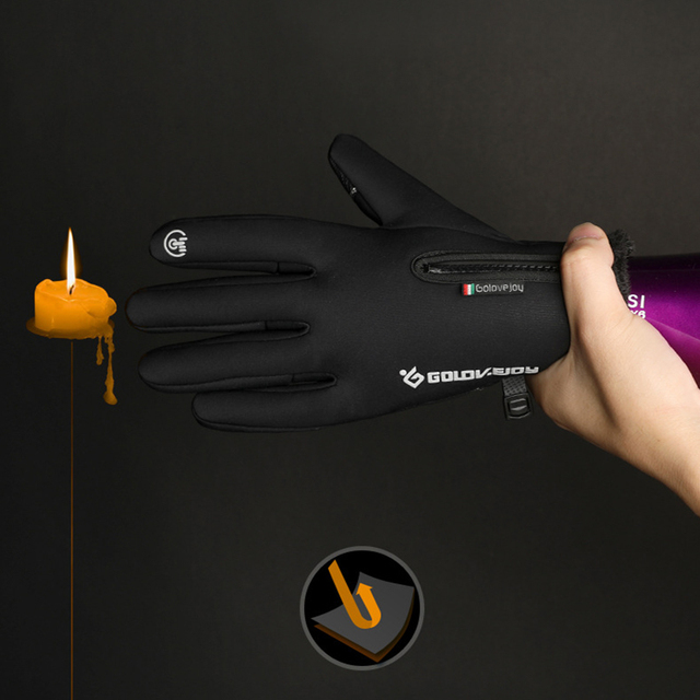 5 Size Cold-proof Unisex Waterproof Winter Gloves 4