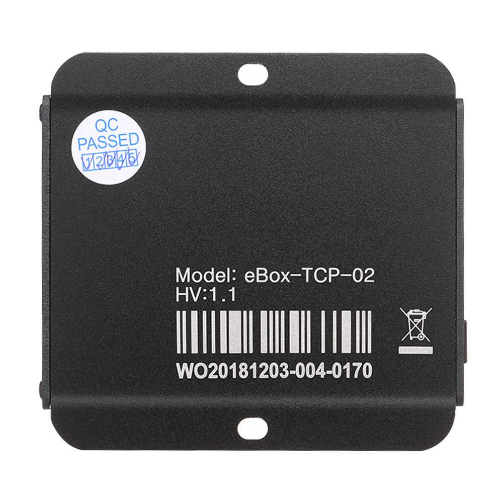 EBOX-TCP-02 последовательный порт сетевой сервер Ethernet преобразования модуля для солнечного контроллера солнечные аксессуары для регуляторов модуль тср