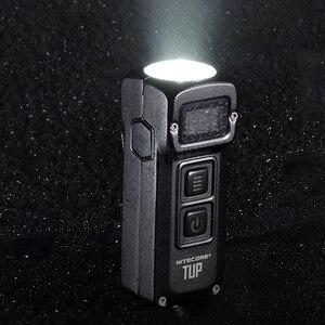 Image 5 - NITECORE TUP Llavero metálico de acero inoxidable, 1000 lúmenes, pantalla OLED, EDC, recargable vía USB, botón de luz, Envío Gratis