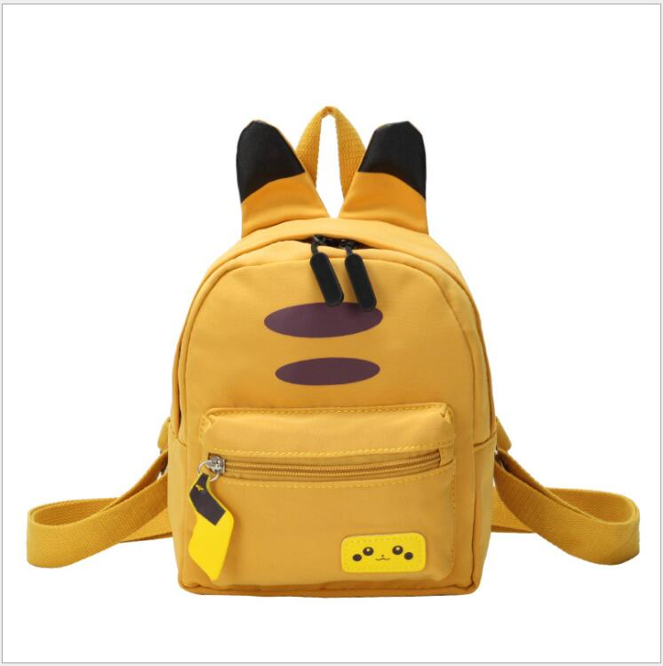 Pokemon Female Travel Backpack Canvas Casual Bag Pikachu Cute School Bags For Teenage Girls Lady's Kawaii Travel Backpacks Women