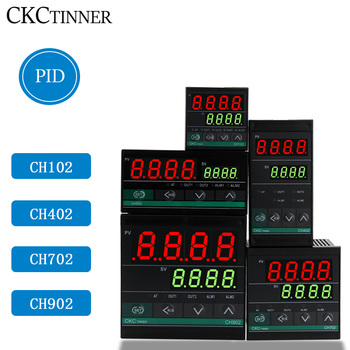 Dual Output SSR and Relay CH102 CH402 CH702 CH902 Two Relay Output LCD Digital PID Intelligent Temperature Controller48-240V AC 100% new and original xbe ry16a ls lg plc 16 point relay output