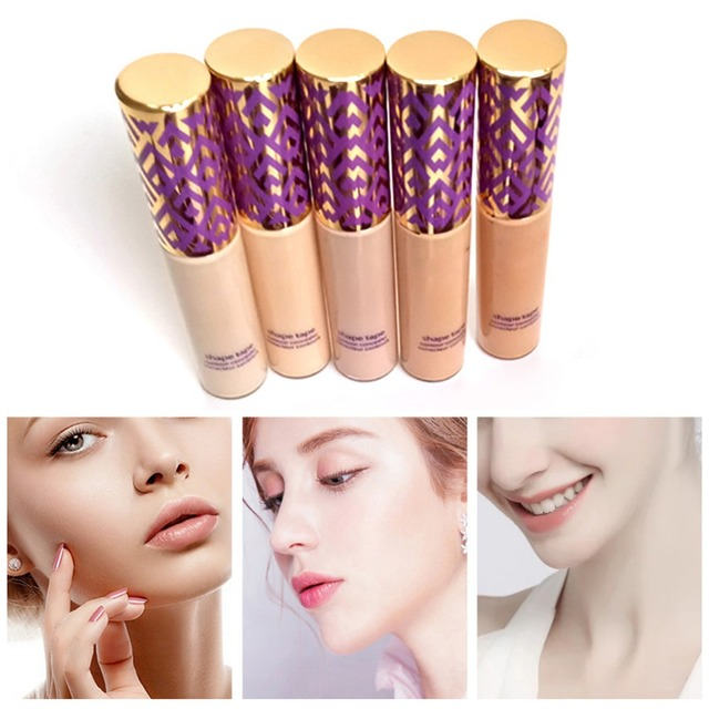 Concealer Cream Face and Eyes Concealer Foundation Double Duty Beauty Shape Tape Contour Concealer 10ml - Different Shades 5