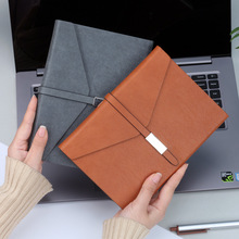 A5 Creative Personality Three Fold Button Leather Notebook Weekly Planner Bullet Journal Diary Notepad Filofax  Agenda