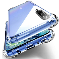 Funda de teléfono transparente a prueba de golpes para OPPO Reno 4 4Z 3 2 Z 2Z ACE 2F Zoom 10X Lite SE Pro 4G 5G