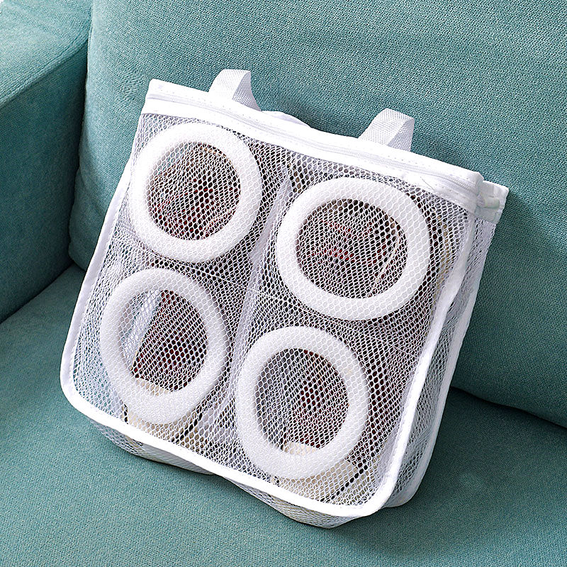 1 Pc Shoes Wash Bag Polyester Mesh Bra Socks Underwear Storage Laundry Bags Home Use Organizer Portable Washing Bag For Sneakers
